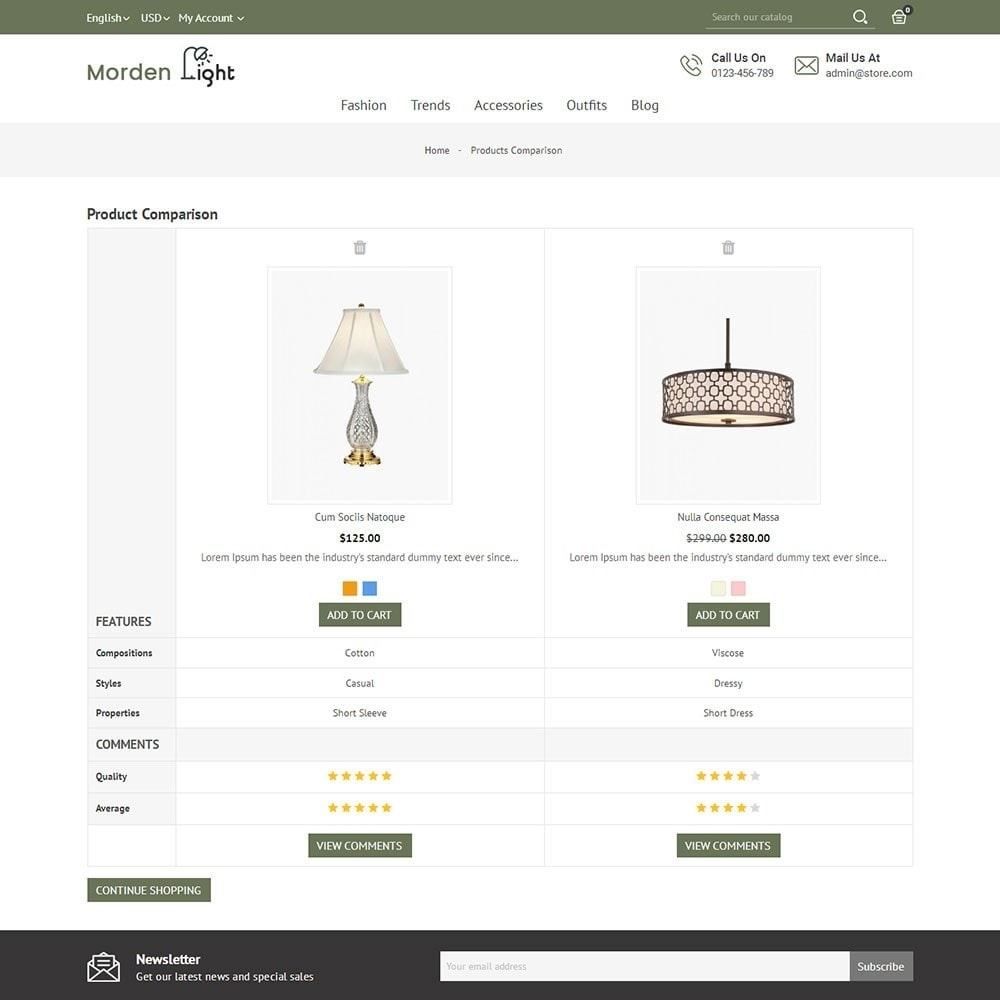 theme - Maison & Jardin - Morden Light Store - 7