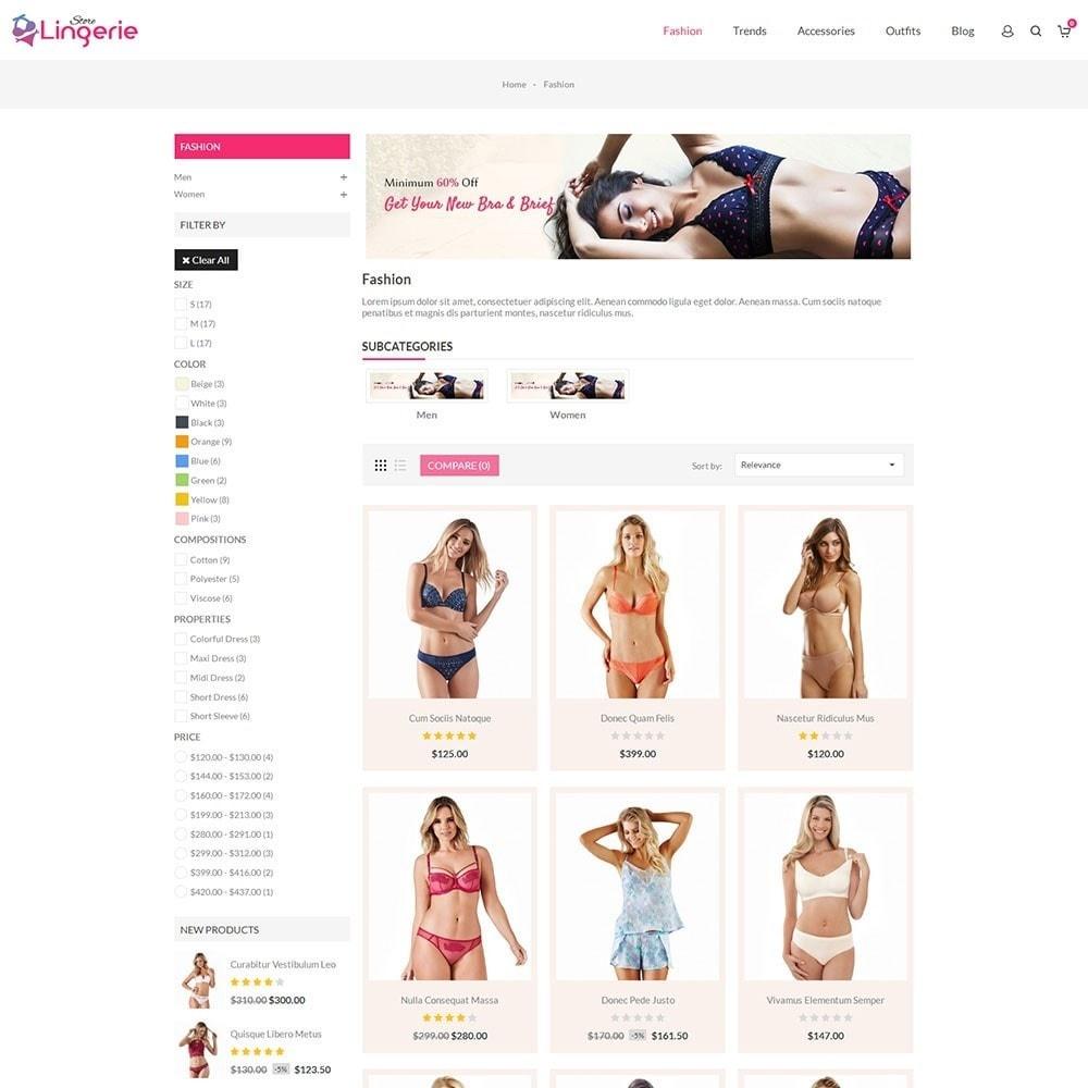 theme - Lingerie & Adultos - Lingerie Store - 3