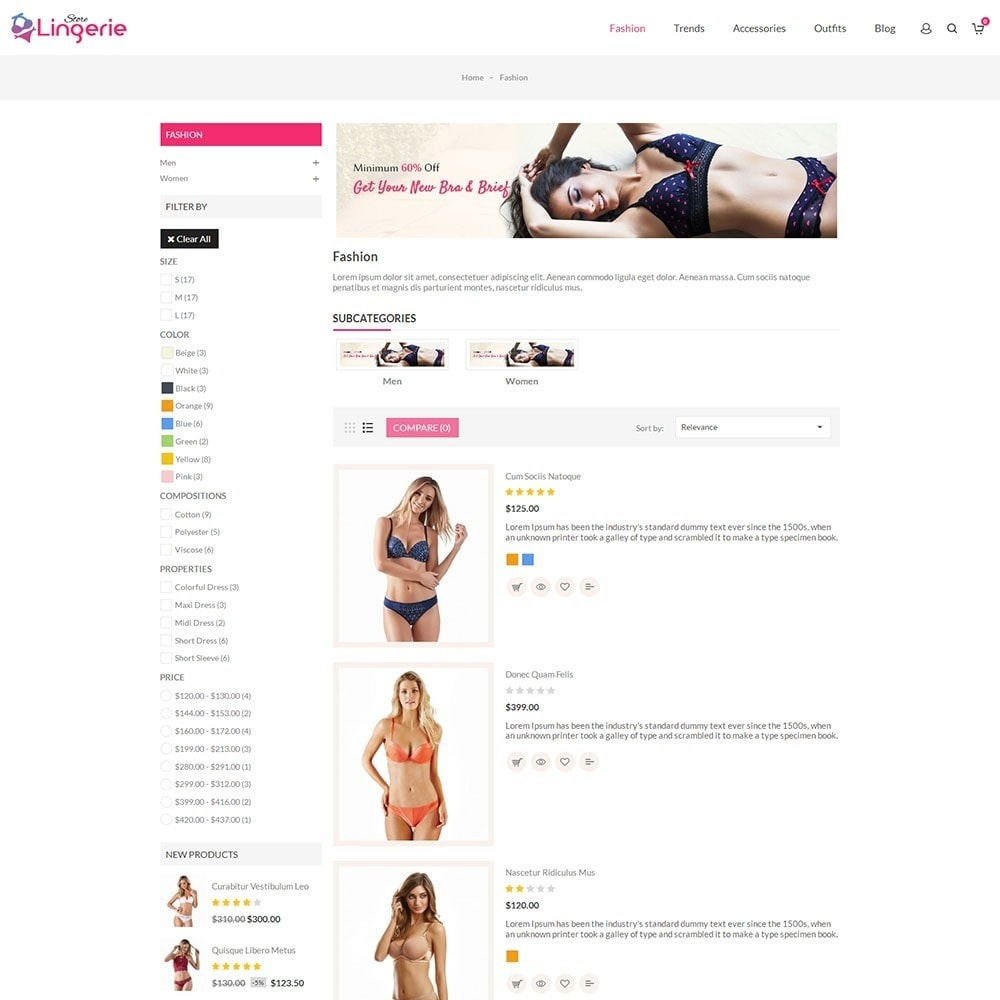 theme - Lingerie & Adult - Lingerie Store - 4