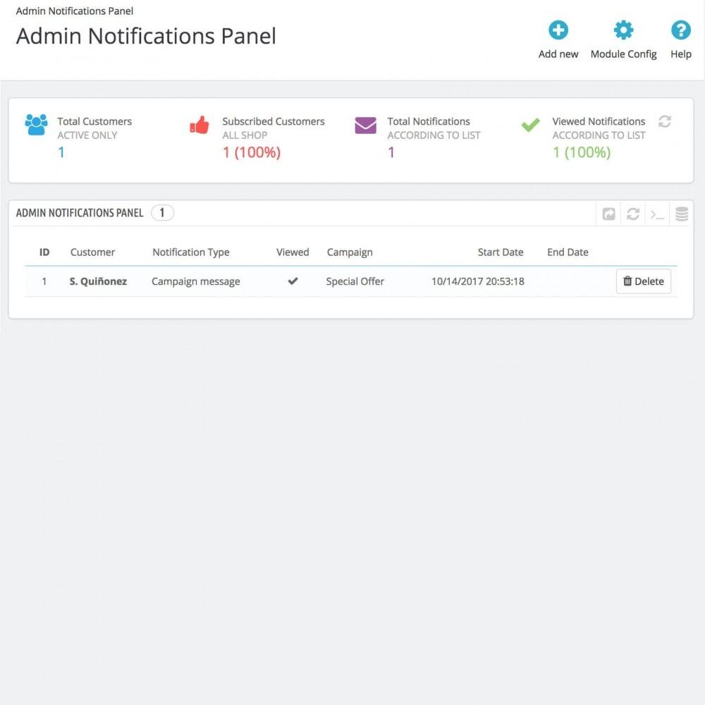 module - Emails & Notificaties - Web Browser Notifications - 3