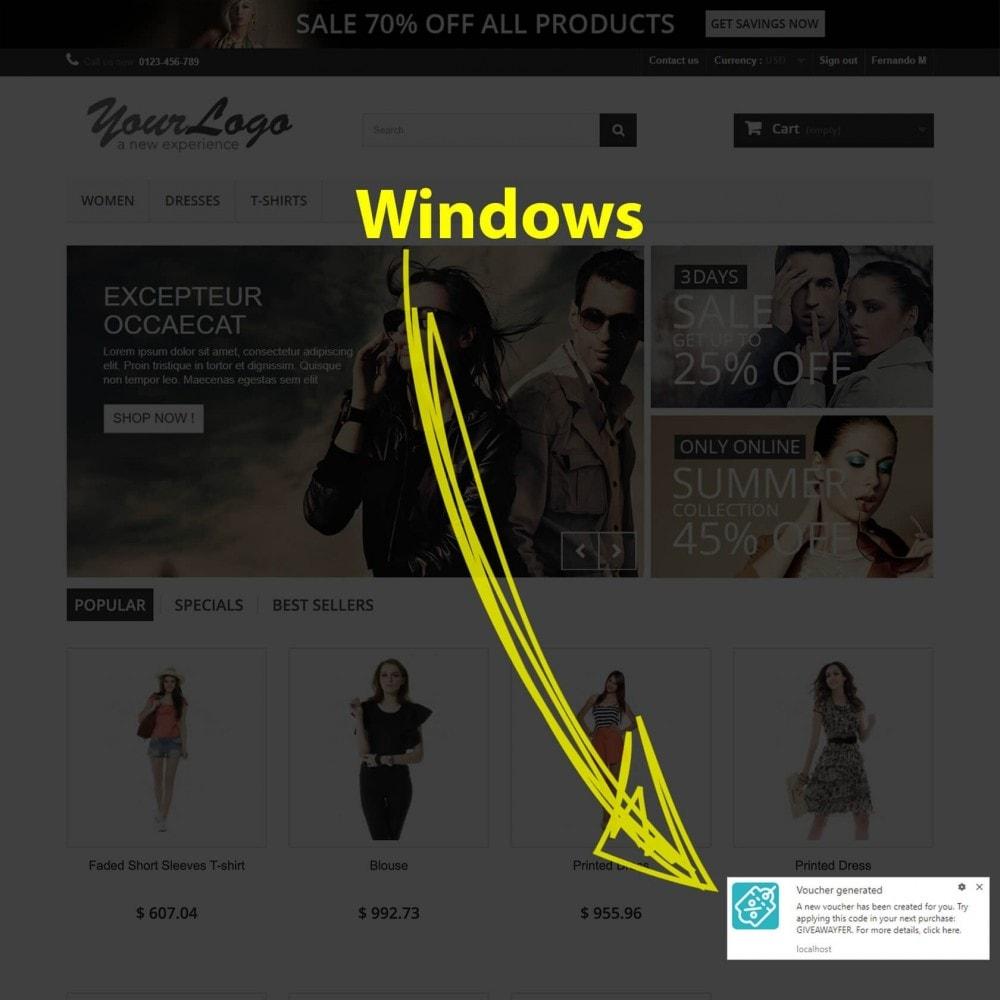 module - электронные письма и уведомления - Web Browser Notifications - 7