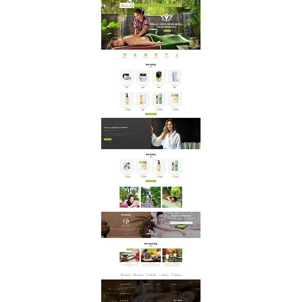 theme - Health & Beauty - Relax Spa Store - 2