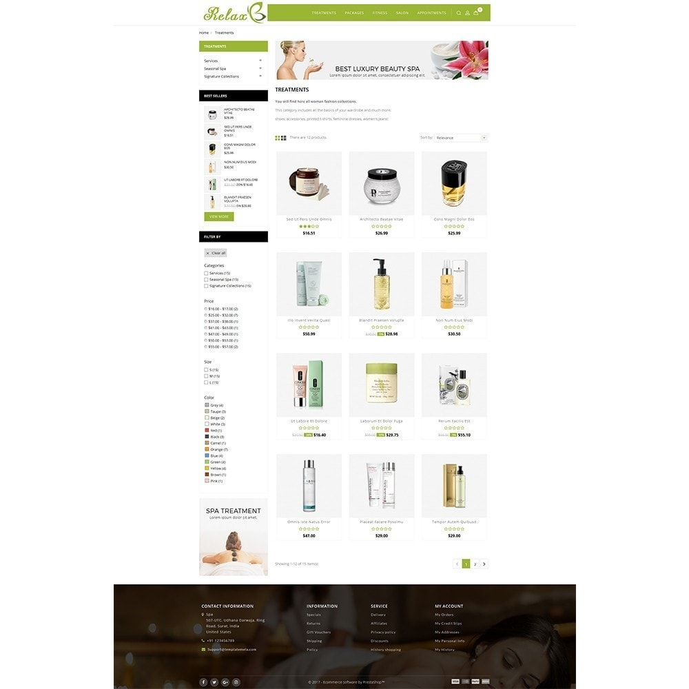 theme - Health & Beauty - Relax Spa Store - 3
