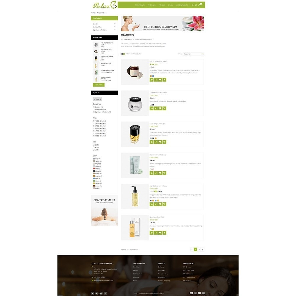 theme - Health & Beauty - Relax Spa Store - 4