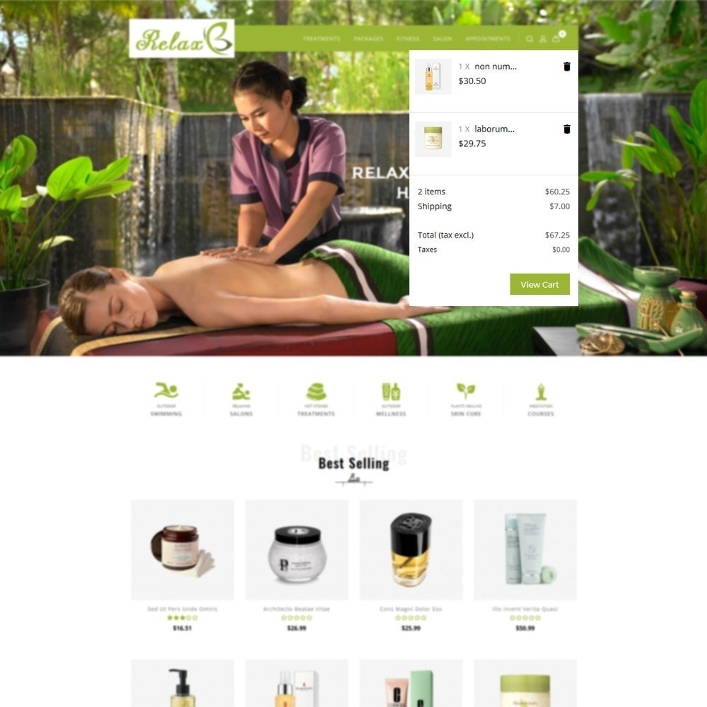 theme - Здоровье и красота - Relax Spa Store - 8