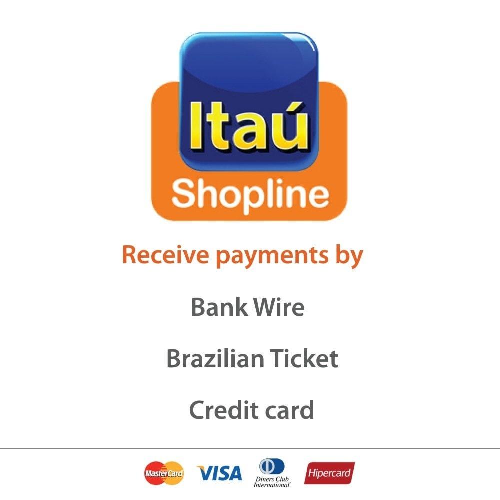 module - Оплата банковской картой или с помощью электронного кошелька - Payment by Itau Shopline - 1