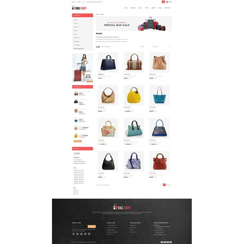 theme - Mode & Chaussures - Bag Store - 3