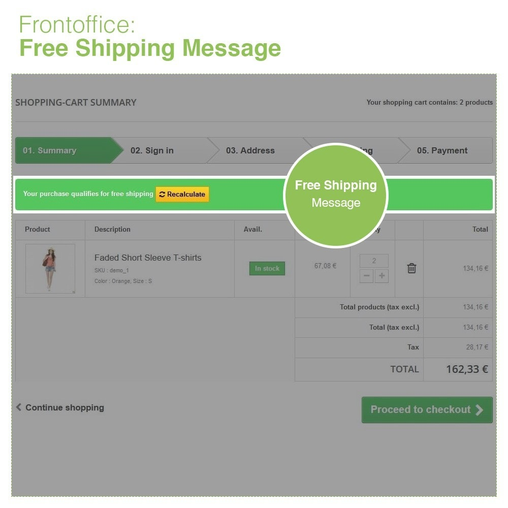 module - Shipping Costs - Free Shipping by Zone, Carrier, Price and Weight - 8