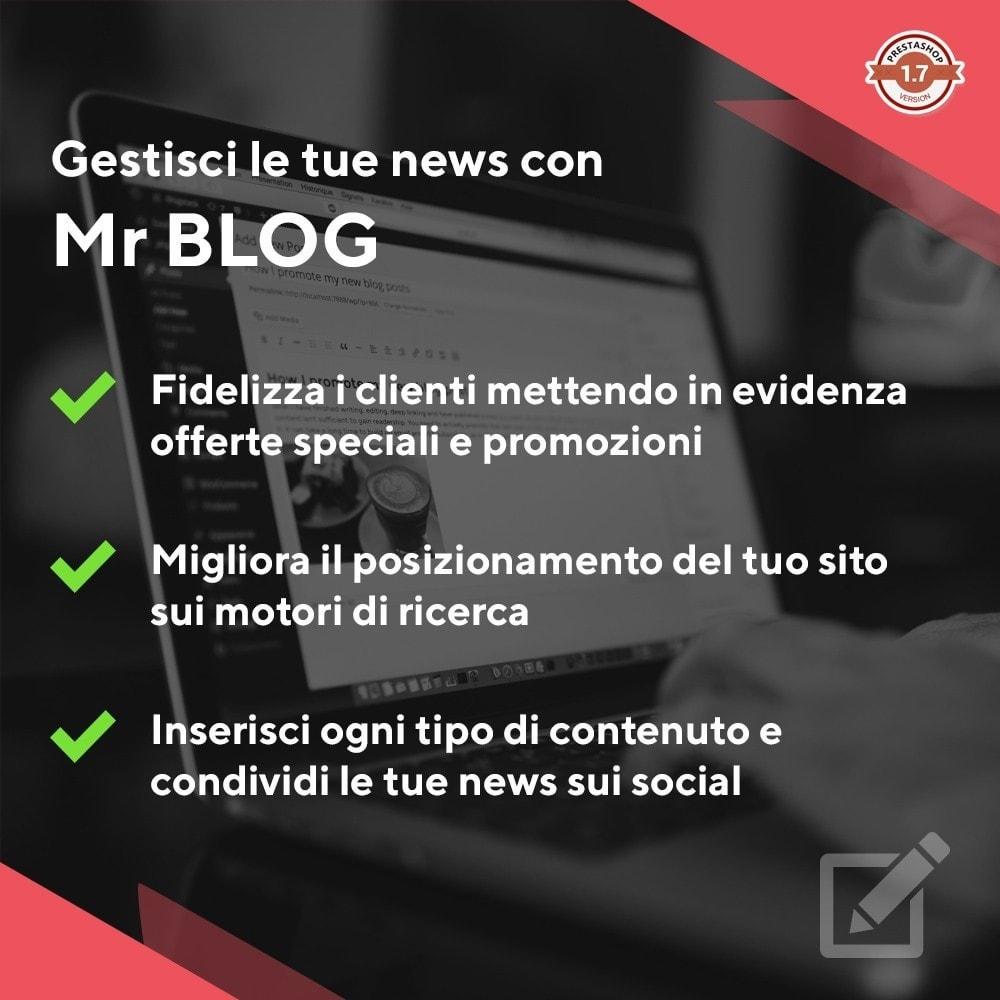 module - Blog, Forum & News - Mr Blog - 1