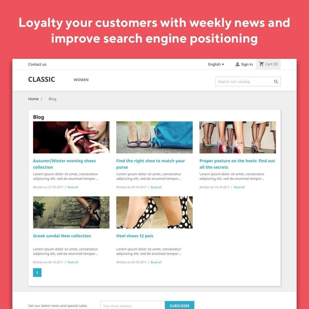 module - Блог, форумов и новостей - Mr Blog - 3