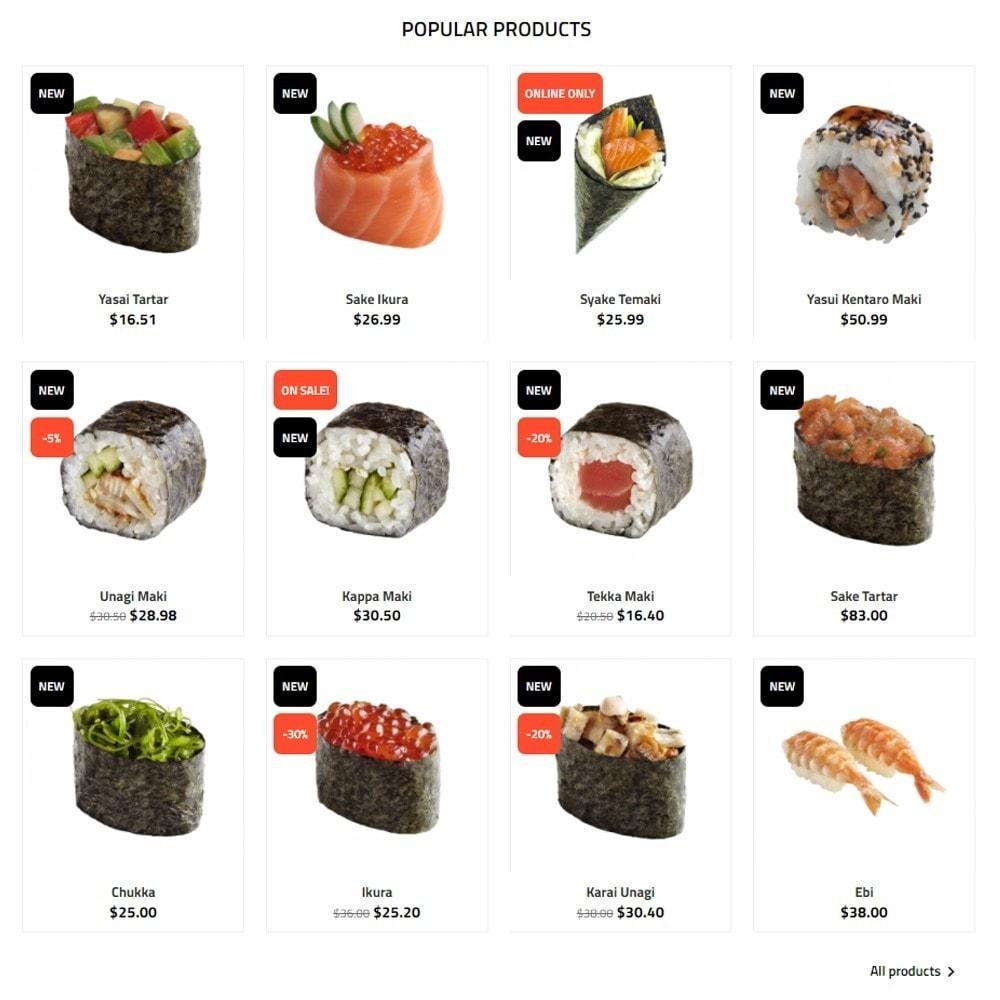theme - Alimentos & Restaurantes - Sushi Wok - 3
