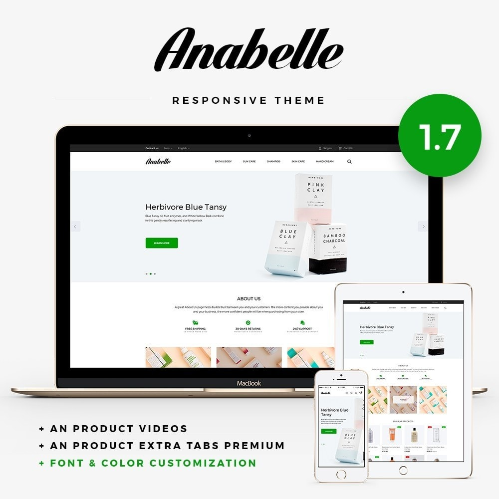 theme - Health & Beauty - Anabelle Cosmetics - 1