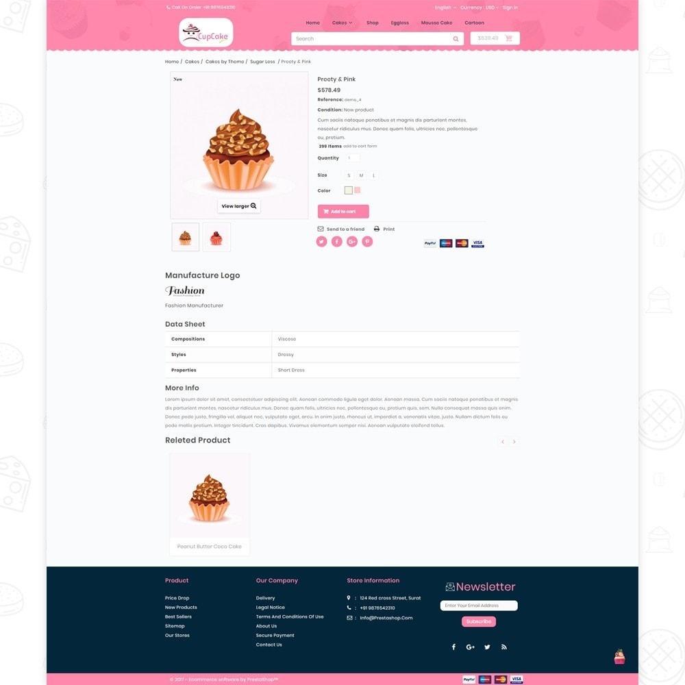 theme - Cibo & Ristorazione - Cake Shop - 5