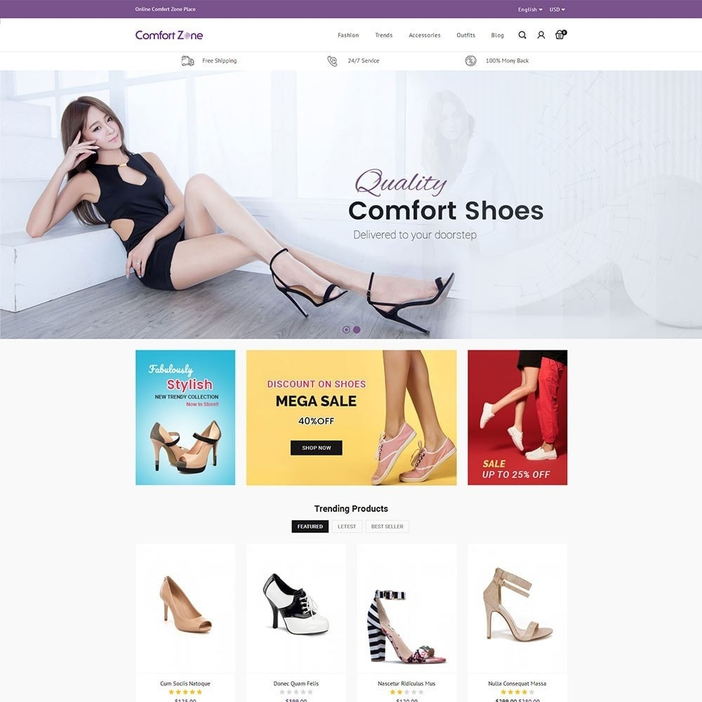 theme - Mode & Chaussures - Comfort Zone Shoes Store - 2