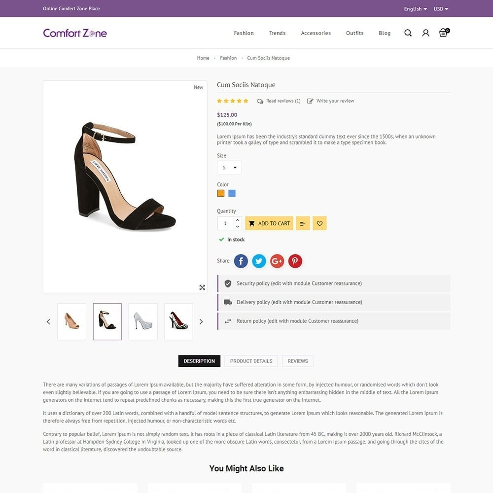 theme - Mode & Chaussures - Comfort Zone Shoes Store - 5