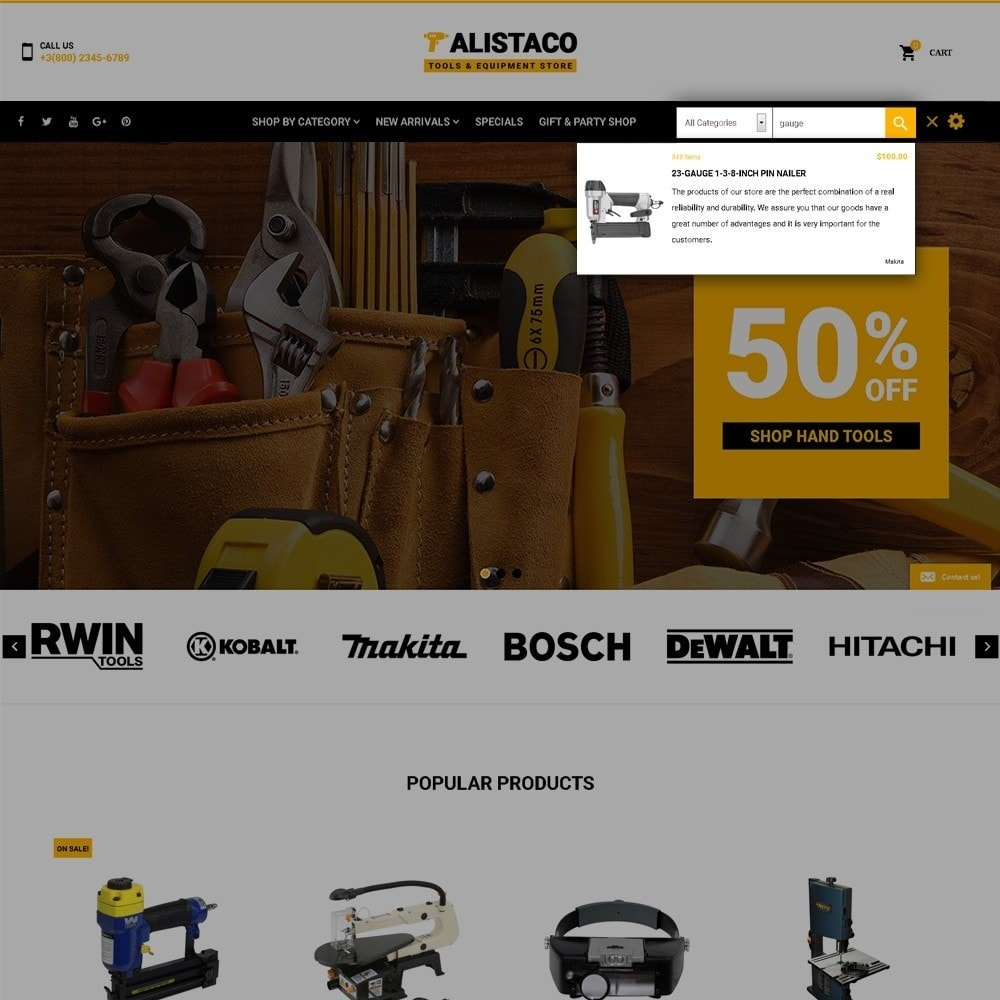 theme - Home & Garden - Alistaco - Tools & Equipment Store - 6