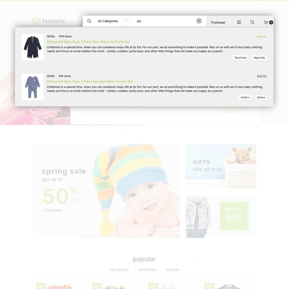 theme - Maison & Jardin - Infantello - Magasin de vêtements pour bébés - 5