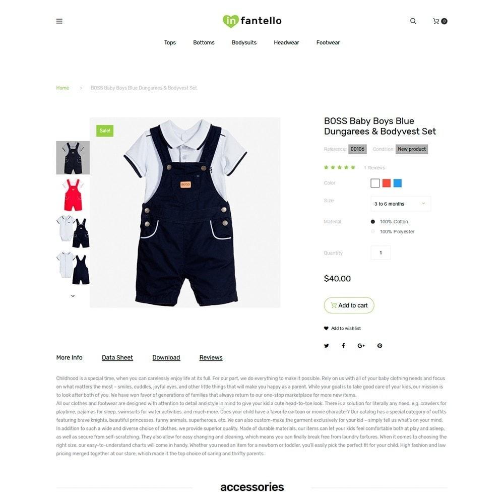 theme - Casa & Giardino - Infantello - Negozio di Vestiti per bambini - 3