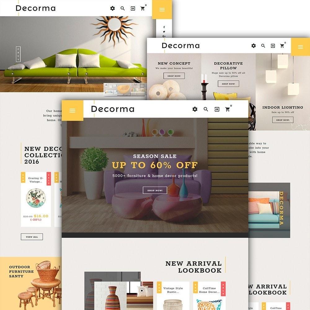 theme - Arte y Cultura - Decorma - para Sitio de Decoración del hogar - 2