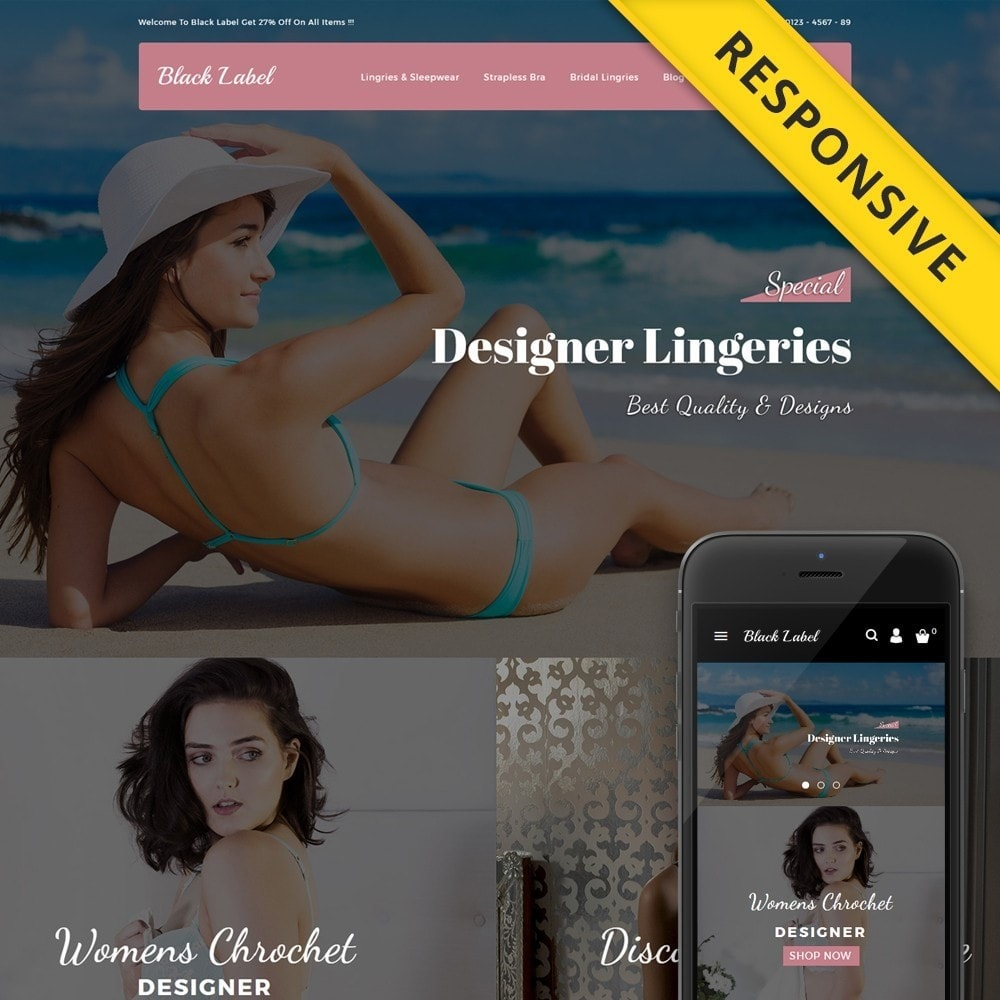 theme - Lingerie & Erwachsene - Black Label - Lingories Store - 1