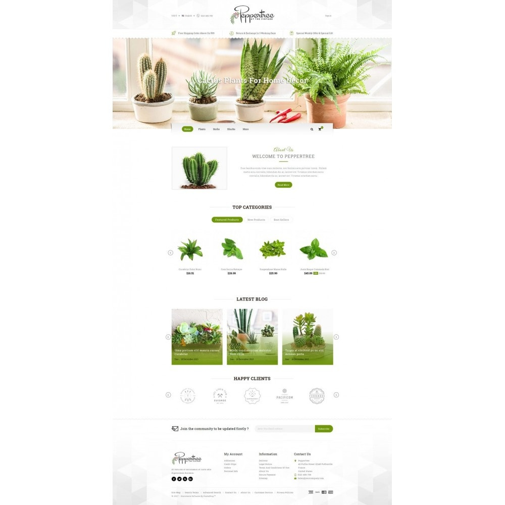 theme - Дом и сад - Peppertree - Garden Plants Store - 2