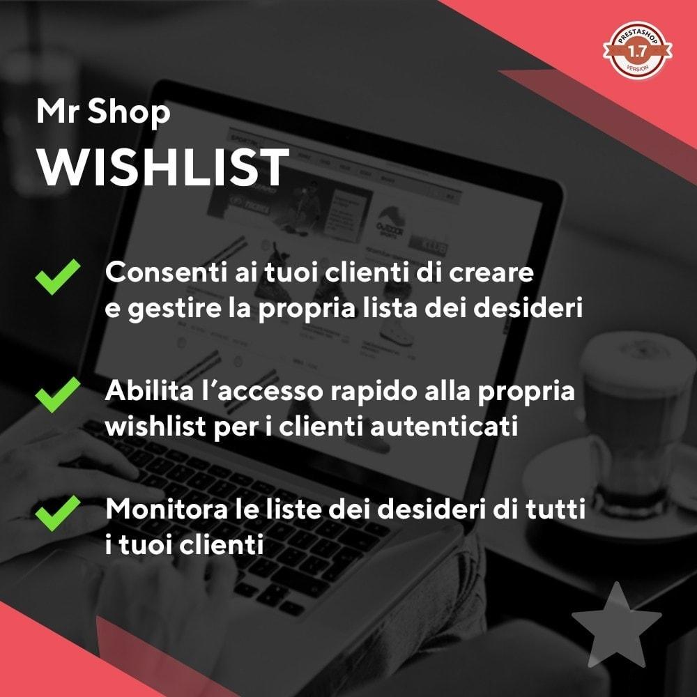 module - Whishlist & Gift Card - Mr Shop Wishlist - 1