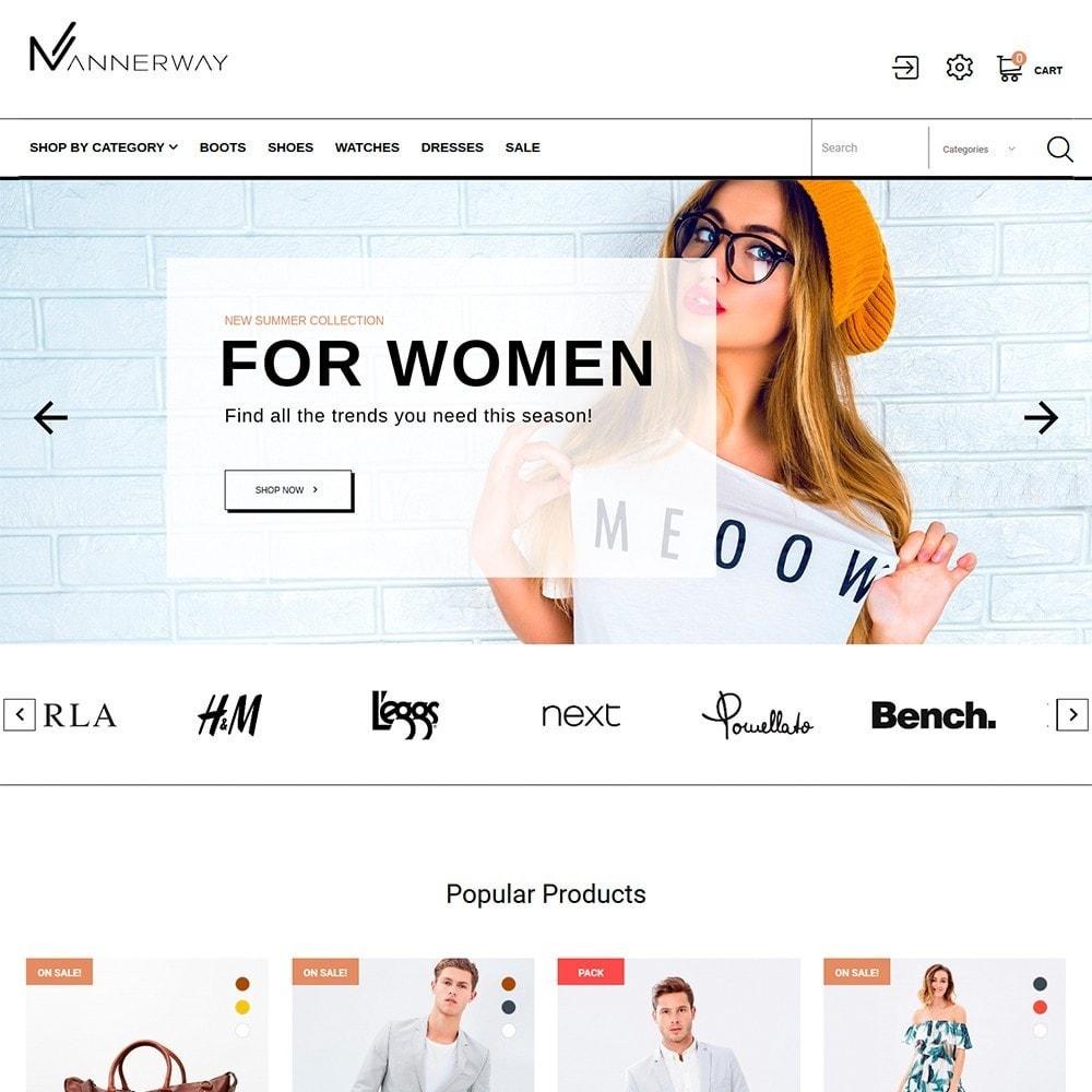 theme - Moda & Calzature - Lunalin - per Un Sito di Fashion Store - 3