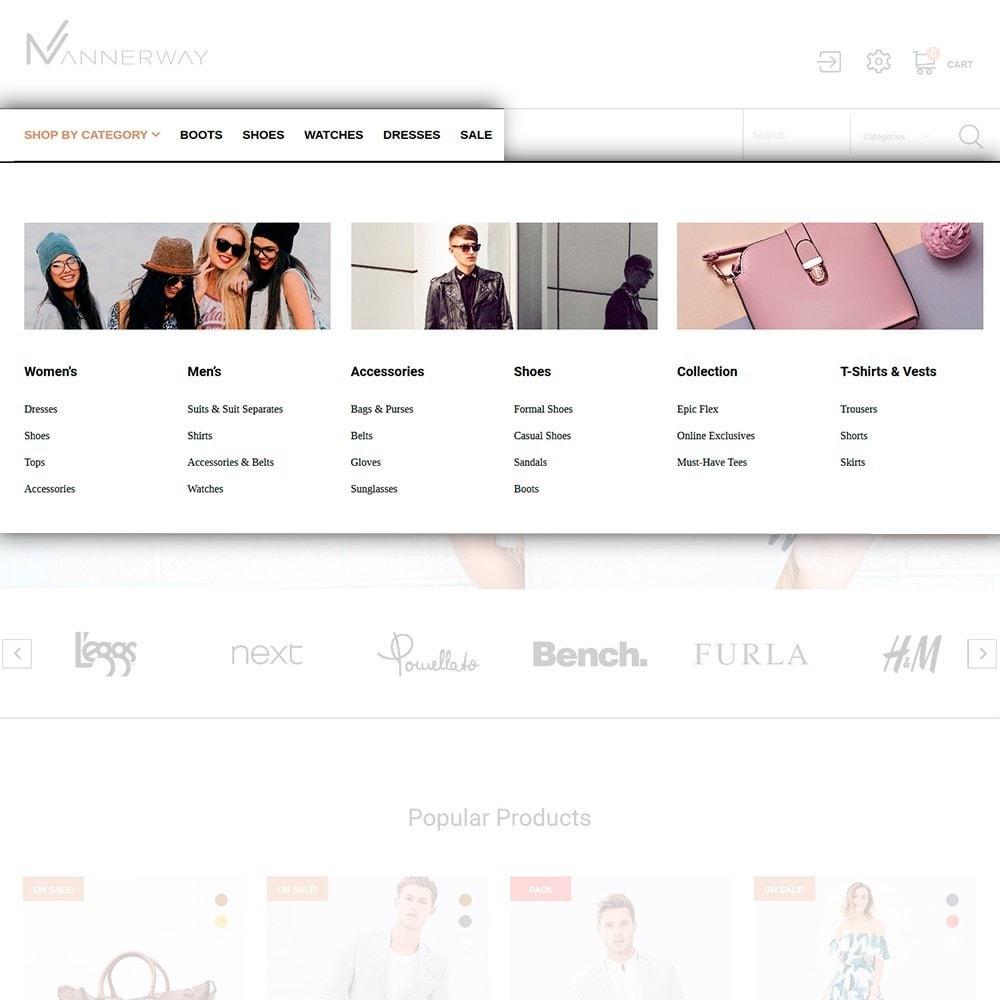 theme - Moda & Calzature - Lunalin - per Un Sito di Fashion Store - 4
