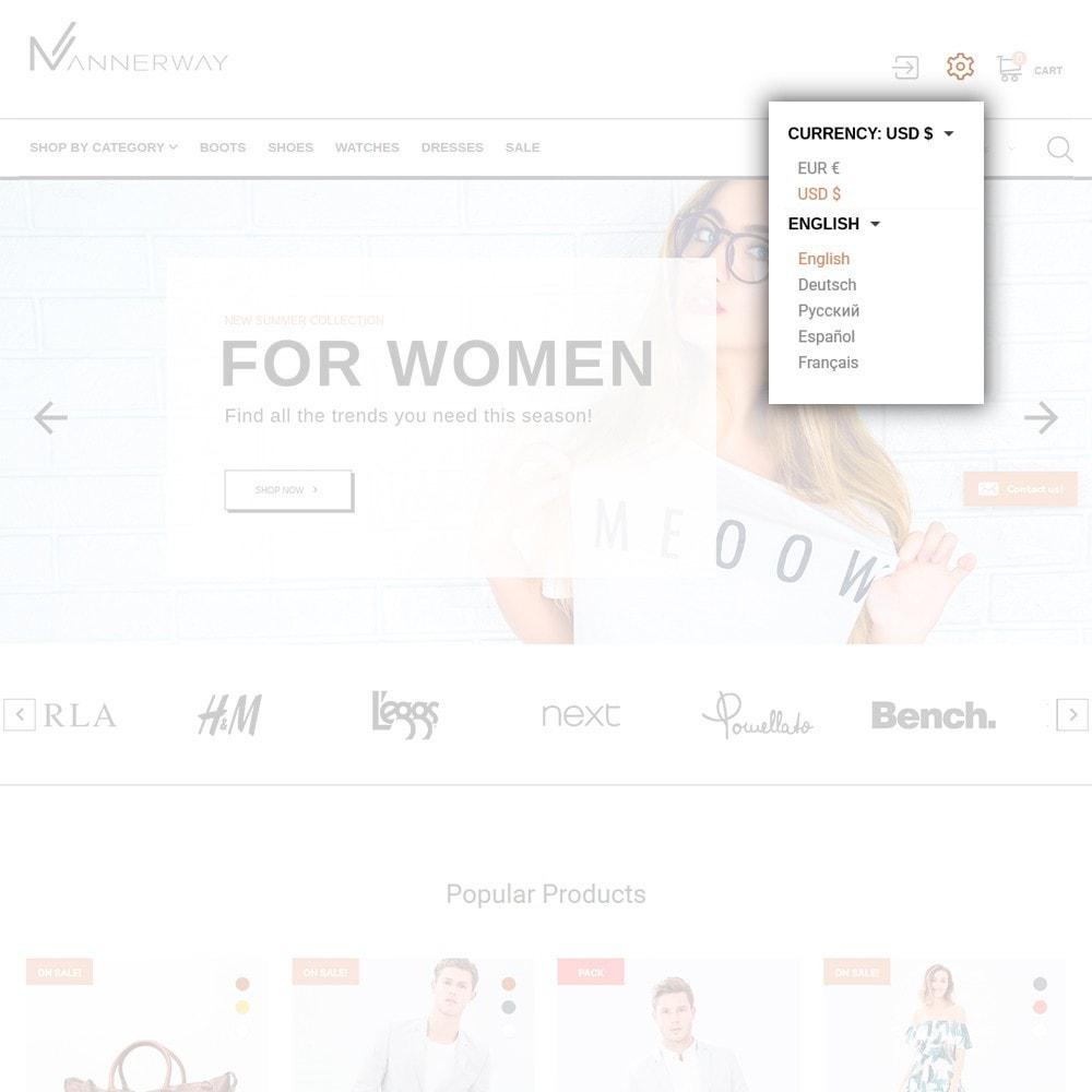 theme - Moda & Calzature - Lunalin - per Un Sito di Fashion Store - 7