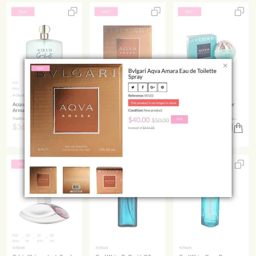 theme - Moda & Calzature - Lunalin - per Un Sito di Negozio Cosmetici - 6