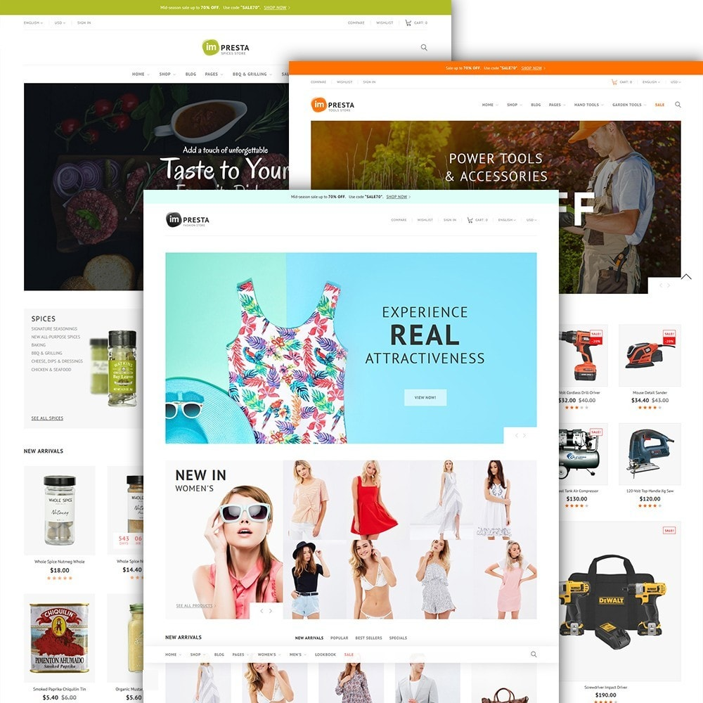 theme - Fashion & Shoes - imPresta - Multipurpose - 3