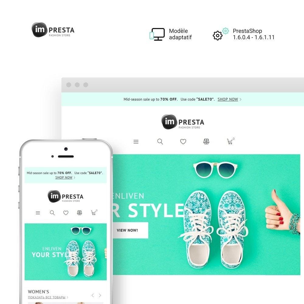 theme - Mode & Chaussures - imPresta - Multipurpose - 1