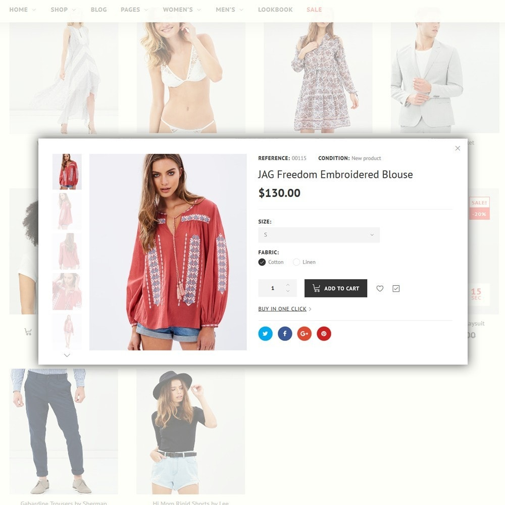 theme - Мода и обувь - imPresta - Multipurpose - 4