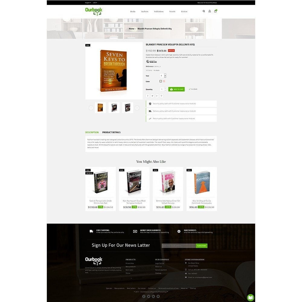 theme - Deportes, Actividades y Viajes - Our Book Store - 5