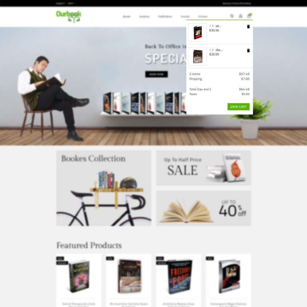 theme - Sport, Loisirs & Voyage - Our Book Store - 6