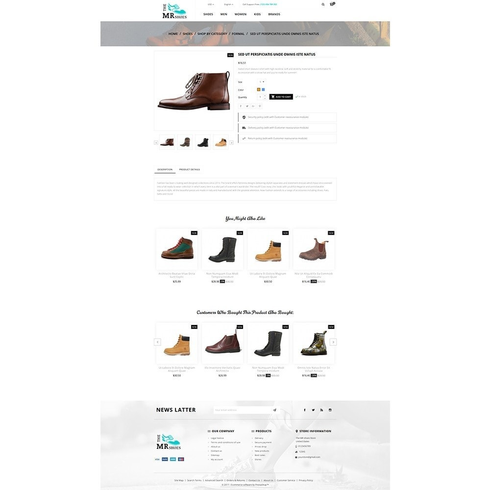 theme - Mode & Chaussures - The MR shoes store - 5