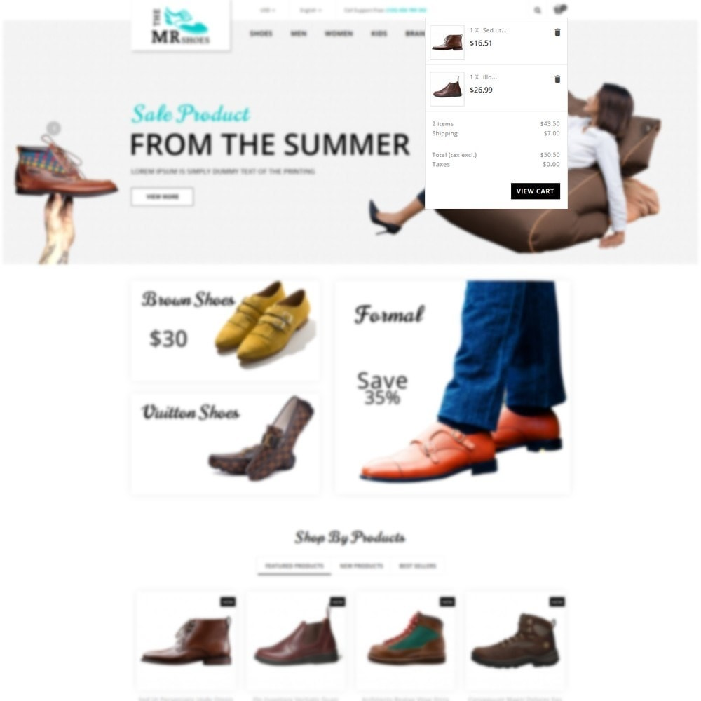 theme - Mode & Chaussures - The MR shoes store - 6