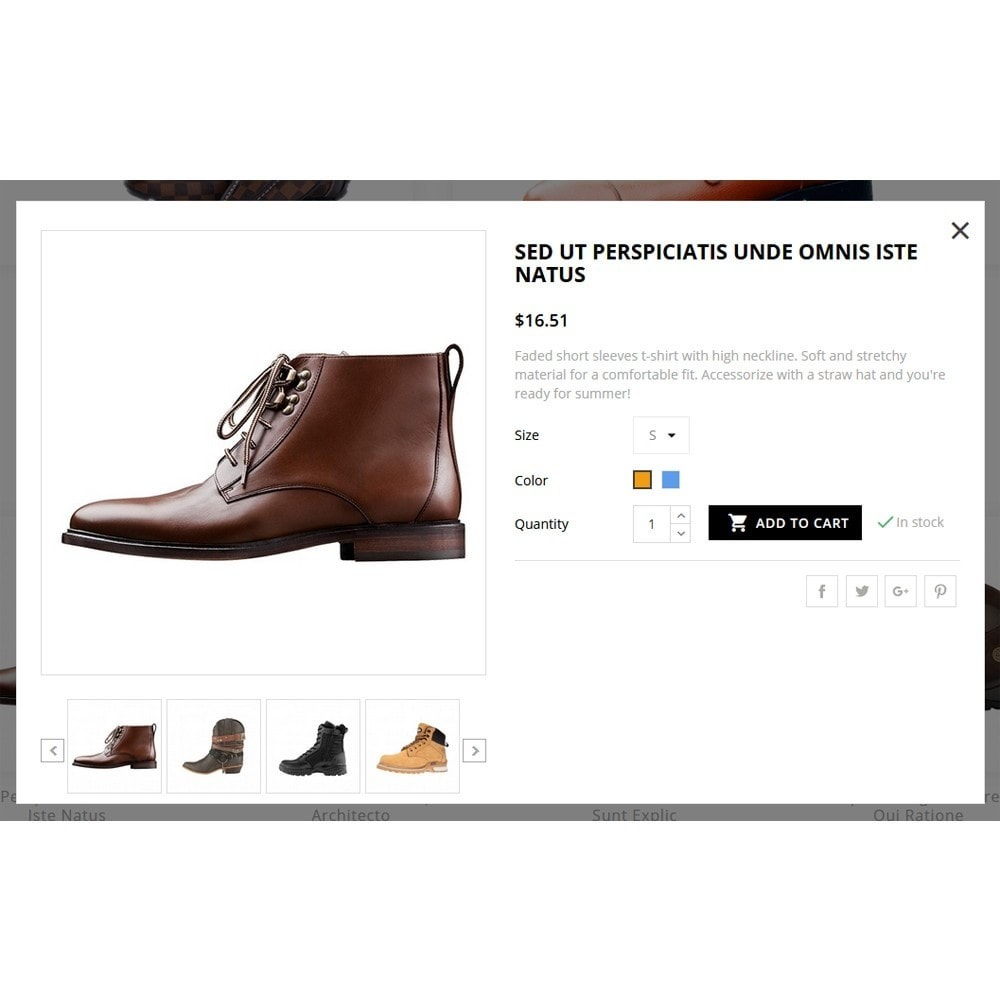 theme - Mode & Chaussures - The MR shoes store - 7