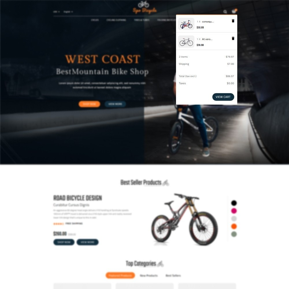 theme - Carros & Motos - Spo Bicycle Store - 6