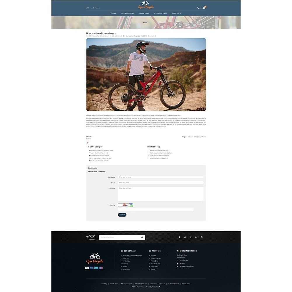 theme - Carros & Motos - Spo Bicycle Store - 8