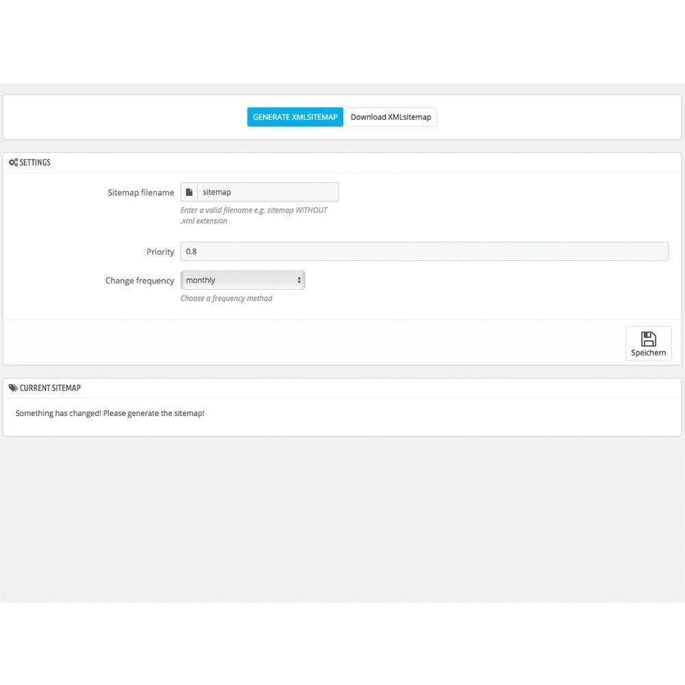 module - SEO - XML Sitemap Creator - 3