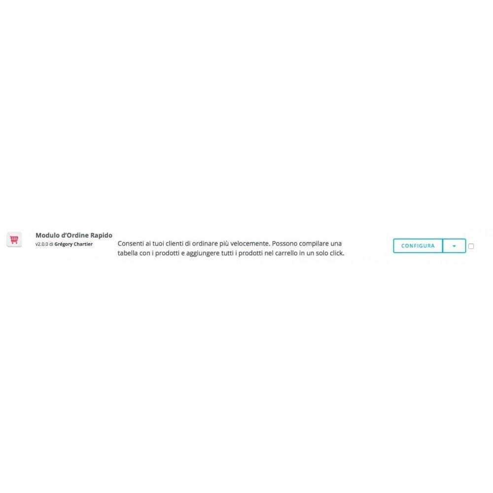 module - Express Checkout - Modulo d'ordine rapido - 6