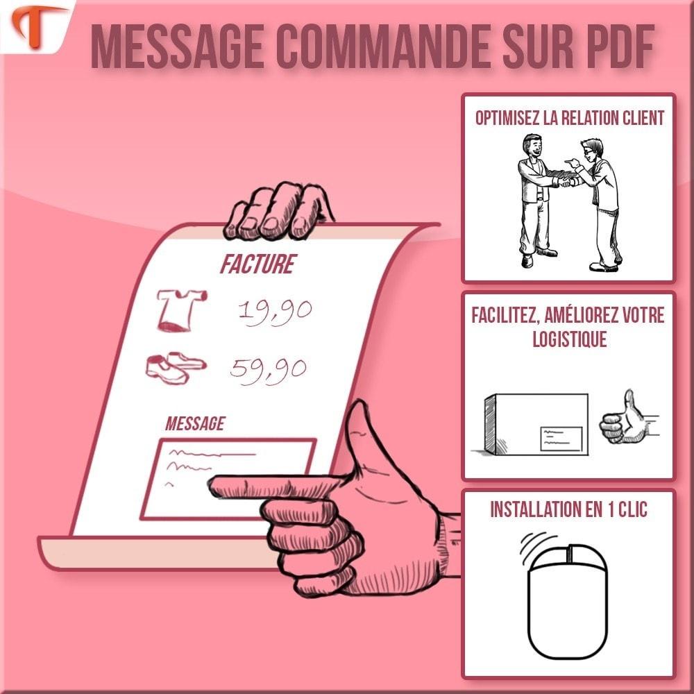 module - Comptabilité & Facturation - Afficher des messages sur vos Factures et/ou Bordereaux - 1