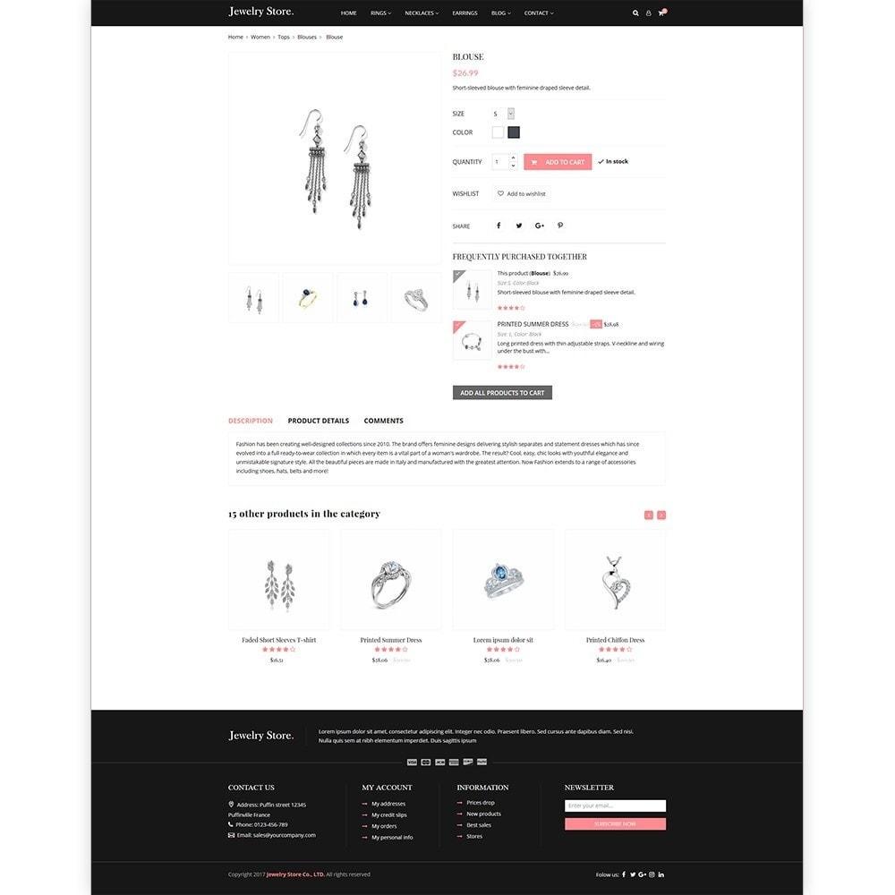 theme - Ювелирные изделия и Аксессуары - Jewelry Store - Premium PrestaShop Template - 4