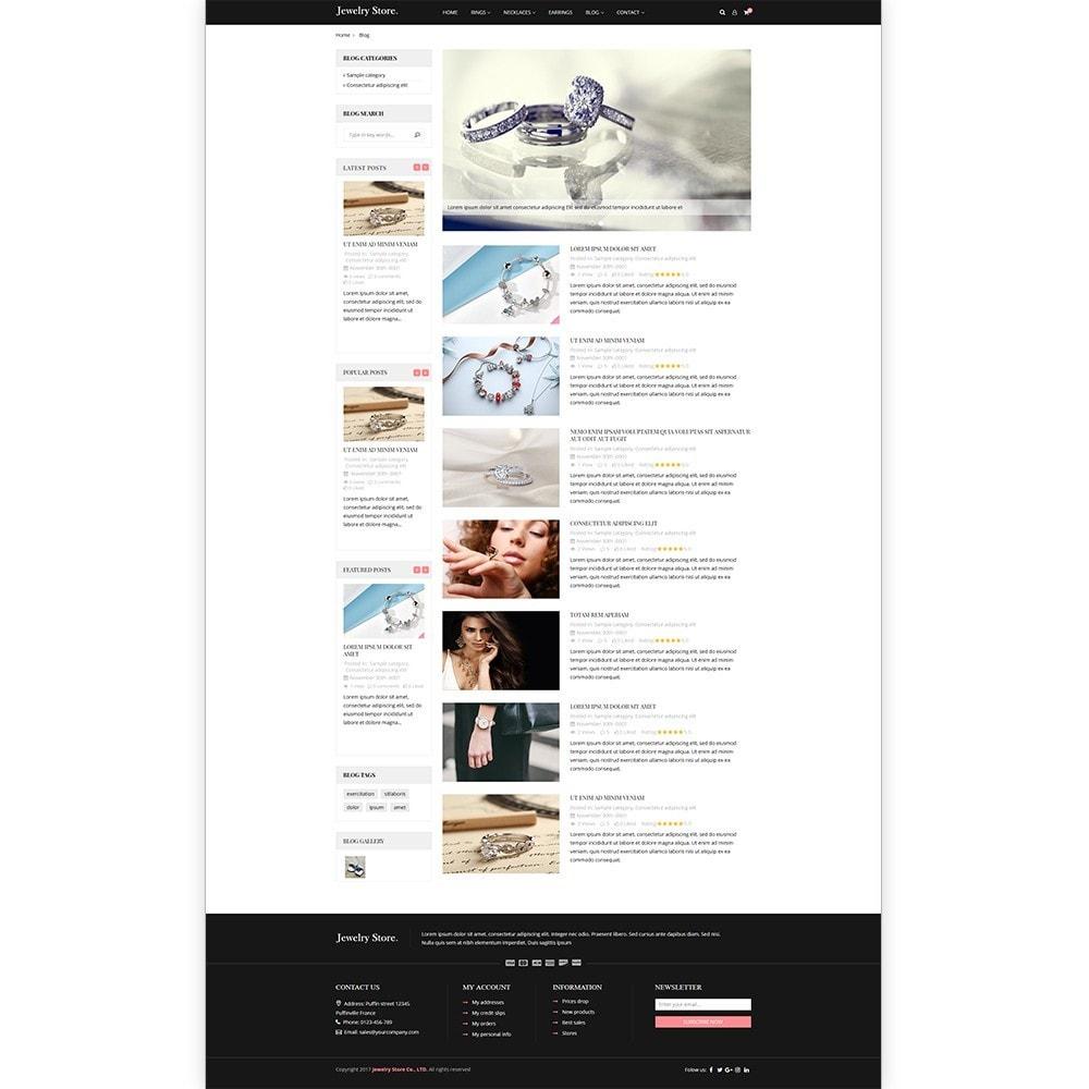 theme - Ювелирные изделия и Аксессуары - Jewelry Store - Premium PrestaShop Template - 5