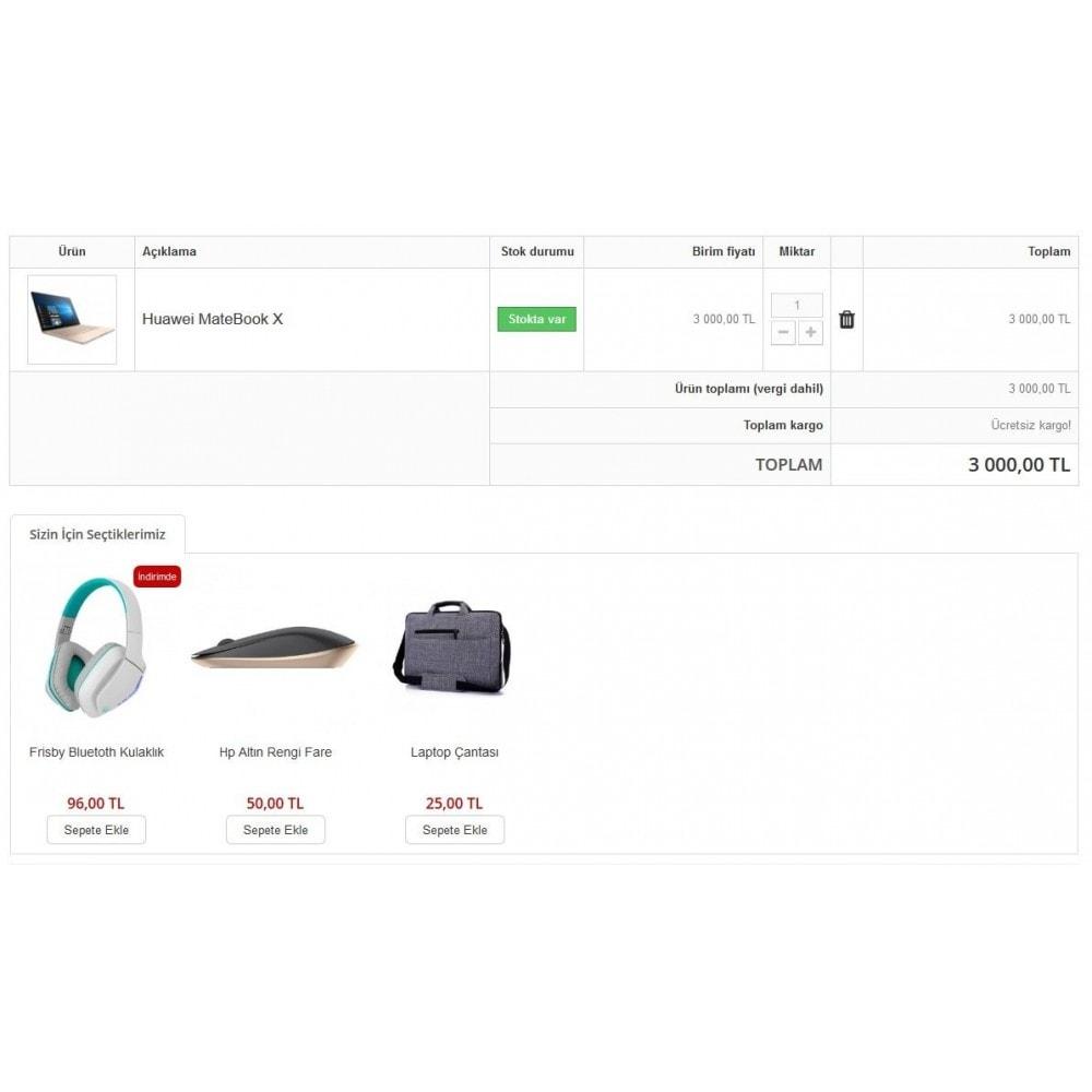 module - Informação Adicional & Aba de Produto - Extra Product Module In Cart - 1