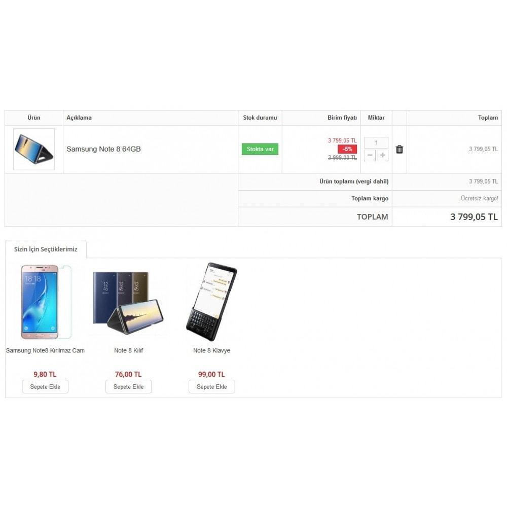 module - Informação Adicional & Aba de Produto - Extra Product Module In Cart - 2