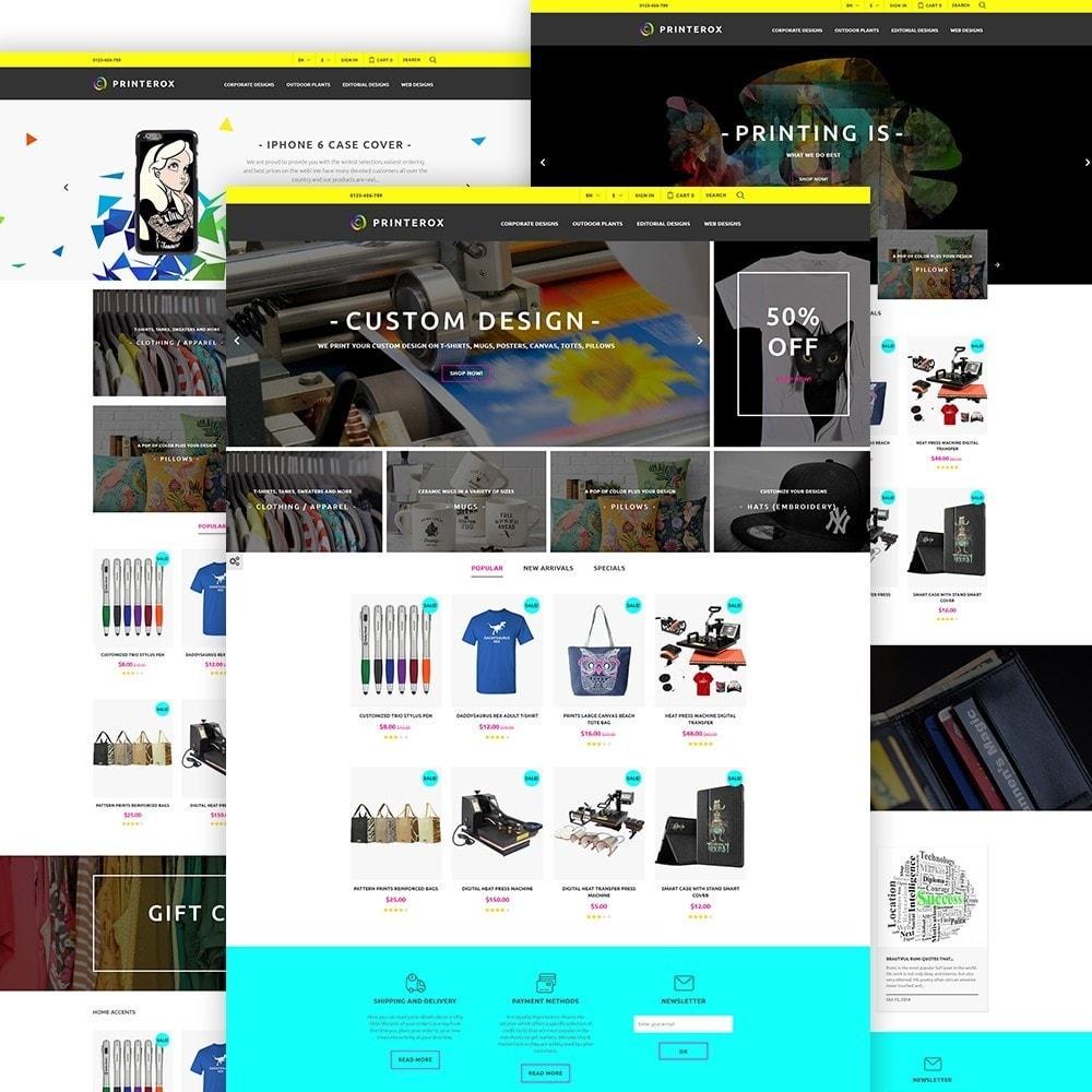 theme - Arte y Cultura - Printerox Design - 2