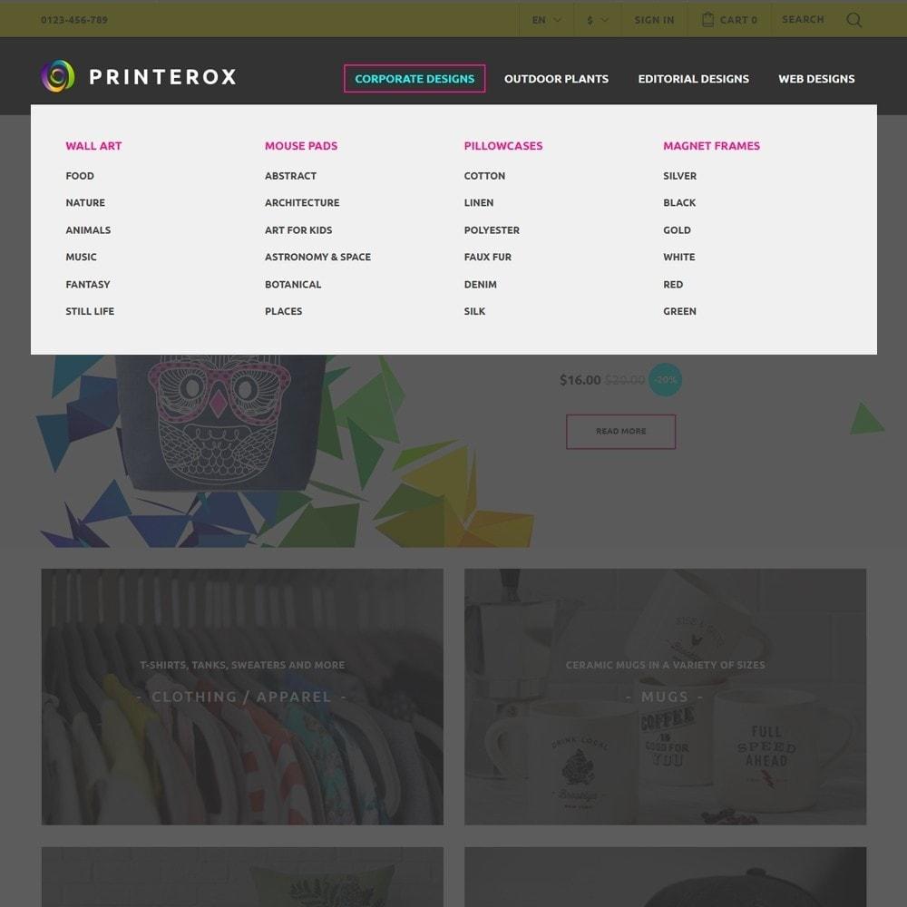 theme - Arte & Cultura - Printerox Design - 3