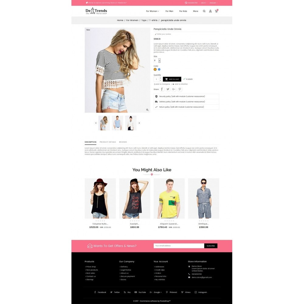 theme - Mode & Chaussures - Trends Fashion Store - 5